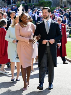 Serena Williams and Alexis Ohanian Prince Harry Meghan Markle Royal Wedding