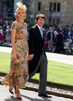 Sofia Wellesley and James Blunt Prince Harry Meghan Markle Royal Wedding
