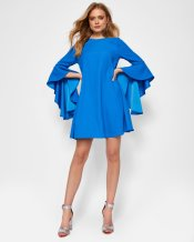Ted Baker Ashleyy Waterfall Sleeved Dress, €205 http://bit.ly/2zid9Q7