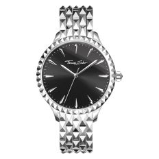 Thomas Sabo Rebel At Heart Pyramid Watch Silver Black, €398 http://bit.ly/2z2LhPM