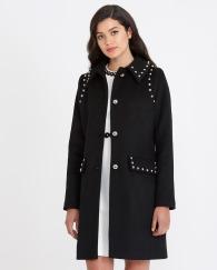 Dunnes Stores Savida Stud Detail Coat, €60 http://bit.ly/2B5pJTH