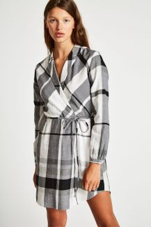 Jack Wills Millgate Checked Wrap Shirt Dress, €95.95