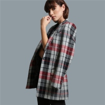 Magee 1866 Grey, Rust & Black Moyne Checked Jacket, €429