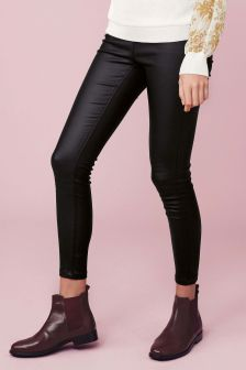 Next Faux Leather Leggings, €30