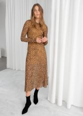 & Other Stories Sheer Leopard Midi Dress, €69 http://bit.ly/2B5oiEC