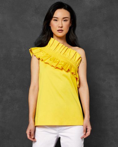 Ted Baker Mitzy Cotton One Shoulder Top, €115