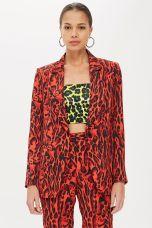 Topshop Leopard Print Suit Jacket, €89