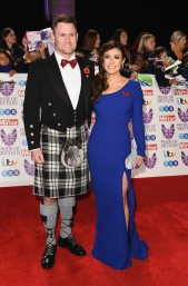 Scott Ratcliffe and Kym Marsh
