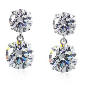 CARAT* London, Double Round Drop Earrings, €280