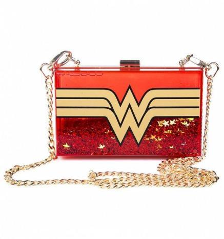 DC Comics: Wonder Woman Glitter Cross Body Bag, €29.98