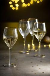 Next Set of 4 Gold Effect Wine Glasses, €34
