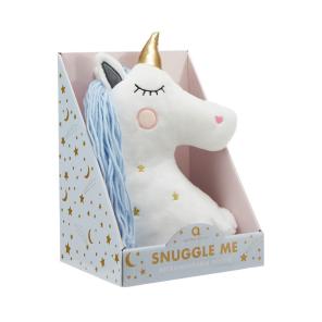 Snuggle Me White Unicorn Hottie, €20