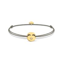 Thomas Sabo Gold Emoticon Bracelet, €49