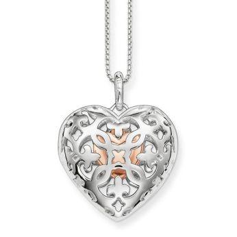 Thomas Sabo, Glam & Soul Heart Medallion Pendant, €242
