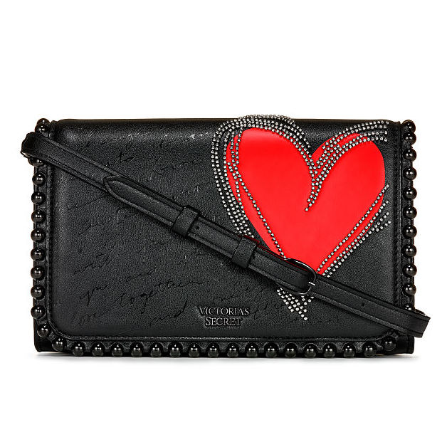 853617dc8a Victorias Secret Red Heart Crossbody
