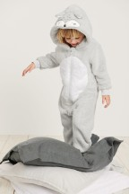 Next Light Grey Squirrel Fleece All-In-One (9mths-8yrs), €20-26 http://bit.ly/2R2VVxt