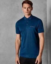Ted Baker Critter Short Sleeved Cotton Polo Shirt, €90 http://bit.ly/2rIcctx