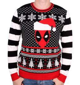 Marvel Deadpool Head Christmas Jumper, €49.99 http://bit.ly/2rtoc1P