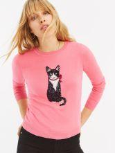 Oasis Cat Sequin Jumper, €51 http://bit.ly/2EamvPf