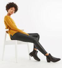 Oasis Leather Look Leggings, €50 http://bit.ly/2rhXucu