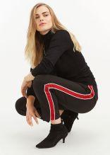 Oasis Side Stripe Peg Leg Trousers, €50 http://bit.ly/2QbdDQ1