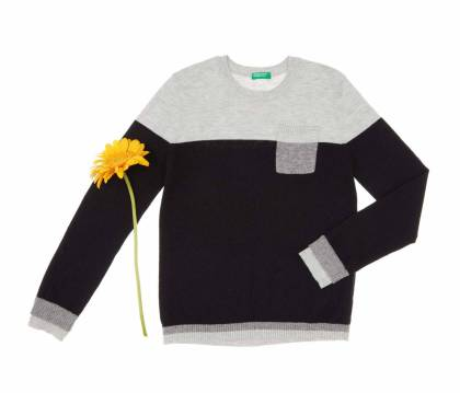 United Colors of Benetton Boys Color Block Sweater, €35.95 http://bit.ly/2B6kiQU