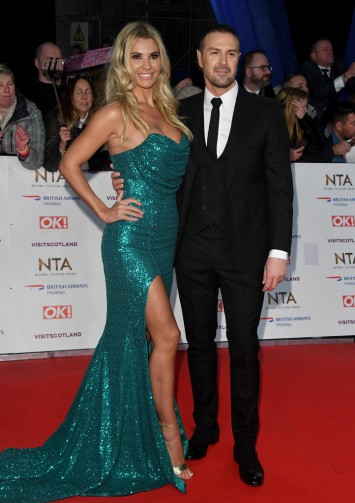 Christine Martin and Paddy McGuinness