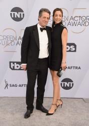 Hugh Grant and Elisabet Aberstein