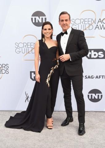 Karina Banda and Carlos Ponce