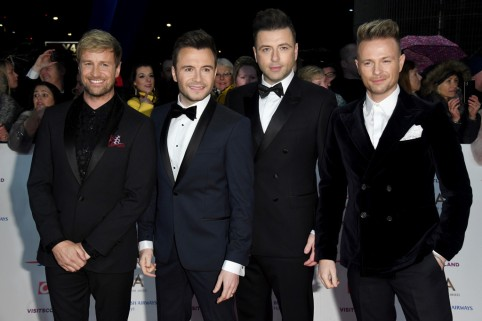 Kian Egan, Shane Filan, Mark Feehily & Nicky Byrne of Westlife