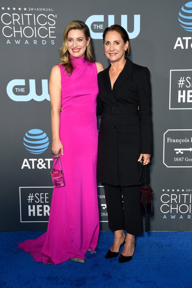 Zoe Perry And Laurie Metcalf Killer Fashion