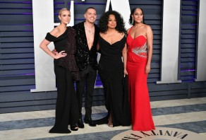 Ashlee Simpson-Ross, Evan Ross, Diana Ross, and Tracee Ellis Ross