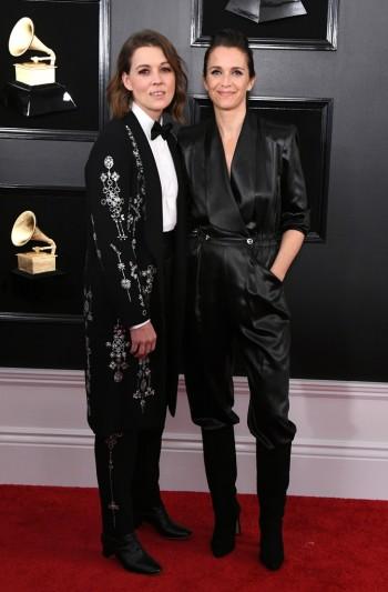 Brandi Carlile and Catherine Shepherd
