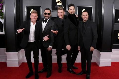 Brian Littrell, AJ McLean, Nick Carter, Kevin Richardson, and Howie Dorough of Backstreet Boys