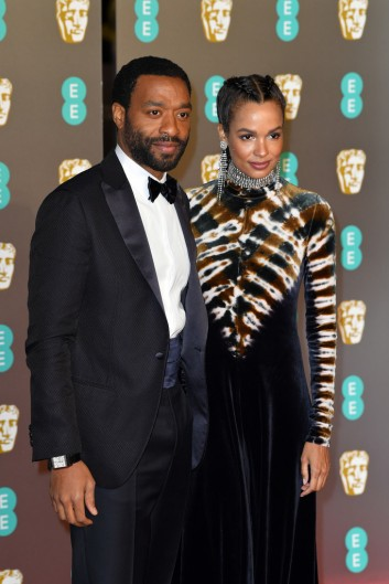 Chiwetel Ejiofor and Frances Aaternir