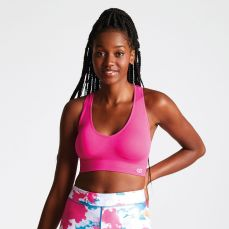 Dare2B Women's Commence Racer Back Sports Bra Cyber Pink, €20.95 http://bit.ly/2IBh6Ur