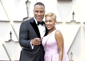 DeVon Franklin and Meagan Good