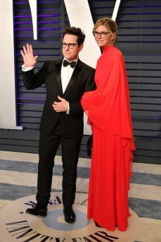 J.J. Abrams and Katie McGrath