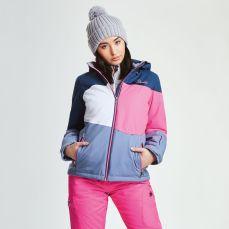 Regatta Dare2B Women's Indestruct Ski Jacket Blue Wing Luminous Pink, €84.95 http://bit.ly/2Bqcevm