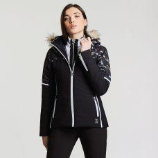 Regatta Dare2B Women's Providence Luxe Ski Jacket Black Marble Print, €159.95 http://bit.ly/2TJAW0U