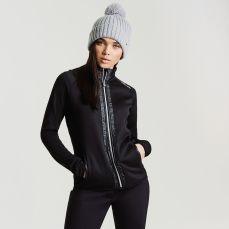 Regatta Dare2B Women's Solaris Luxe Ski Midlayer Sweater Black, €39.95 http://bit.ly/2MXktDO