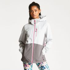 Regatta Dare2B Women's Verate Waterproof Jacket Grey, €63.95 http://bit.ly/2WW6e6D