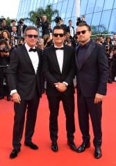 Alejandro Agag, Orlando Bloom and Leonardo DiCaprio
