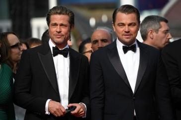 Brad Pitt and Leonardo di Caprio