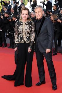 Caroline Scheufele and Christoph Waltz