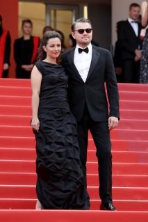 Leila Conners and Leonardo DiCaprio