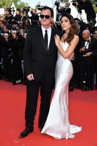 Quentin Tarantino and Daniela Pick