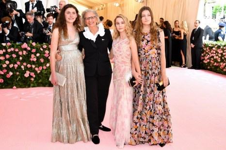 Sarah Cameron Leibovitz, Annie Leibovitz, Samuelle Rhinebeck and Susan Leibovitz