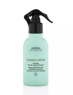 Aveda Rinseless Refresh Micellar Hair and Scalp Refresher, €28 http://bit.ly/32X31Wu