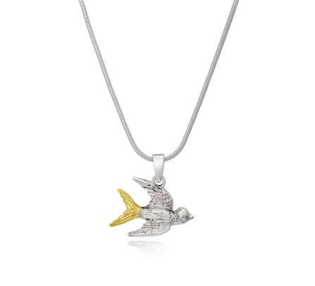 Gallardo & Blaine Dublin Swallow Necklace, €45 http://bit.ly/35z2g7H